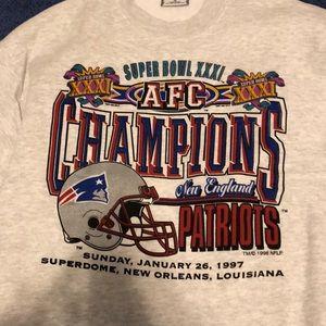 Old 1997 Super Bowl sweatshirt